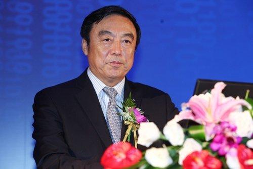 图文:招商银行行长马蔚华做主题演讲