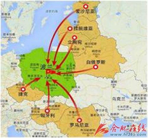 中东欧国家地处欧亚大陆接合部,是连接欧亚大陆的重要桥梁和纽带图片