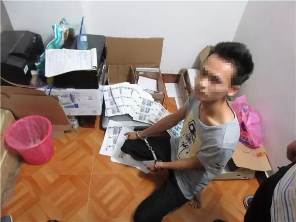 夫妻打印机印钱 夫妻用打印机印钱上网卖 获利6万被抓