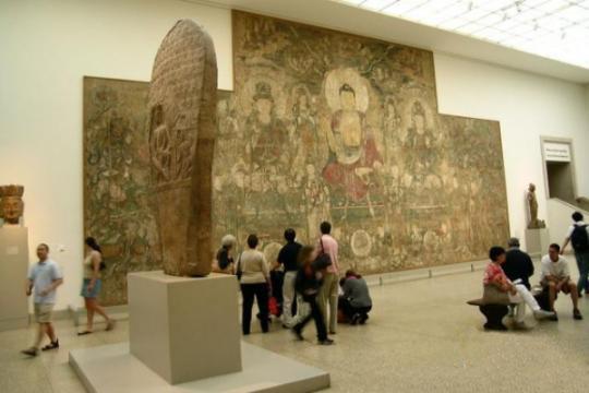 流失海外的元代壁画回归