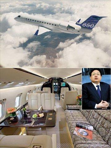 明星富豪私人飞机大比拼(组图)