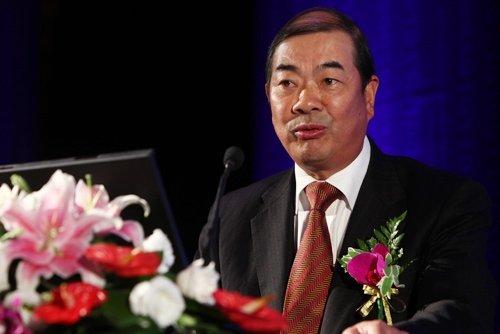 图文:兴业银行副行长陈德康发表主题演讲