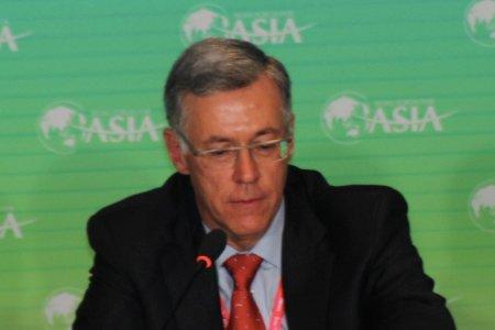 图文:太平洋能源发展公司董事长弗兰克-英格沙利