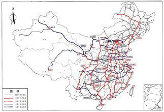 中国铁路经济时代全面开启:建八横八纵铁路网(图)