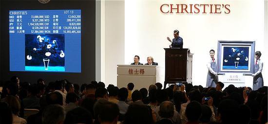 从纽约到上海 苏富比佳士得角力中国艺术品