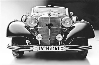 希特勒昔日专属座驾将拍卖 专家估价达700万美元