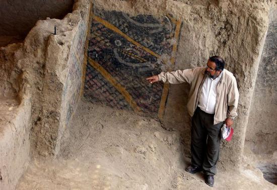 秘鲁考古现场遭遇大火 美洲最古老壁画遭损毁