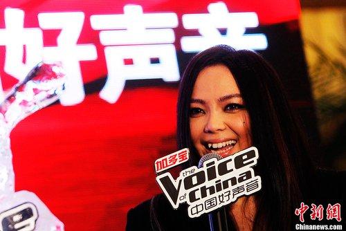《中国好声音》第二季导师集体亮相 张惠妹加盟