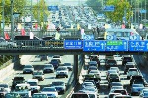 北京堵车高峰_北京市治堵措施今起征求民意 重点路段高峰期单双号