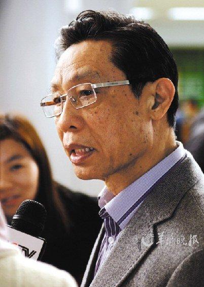 人大代表钟南山:建议将雾霾治理纳入政绩考核