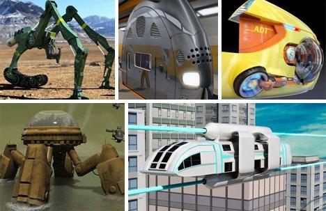 20款未来交通工具(组图) - luoxunb - luoxunb的博客