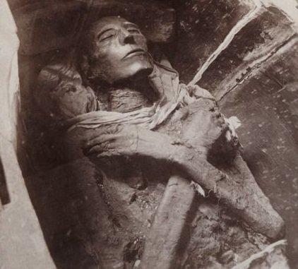 埃及塞提一世木乃伊-全球最神奇木乃伊 保存相当完整图片