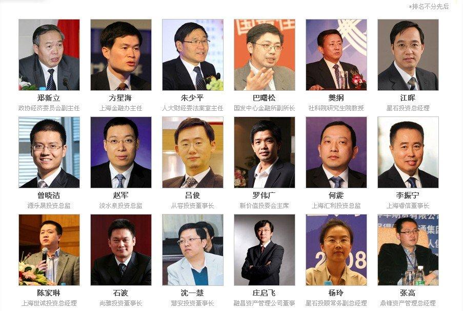 第二届中国阳光私募基金峰会