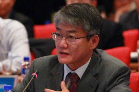 图文:韩国对外经济政策研究院院长蔡旭
