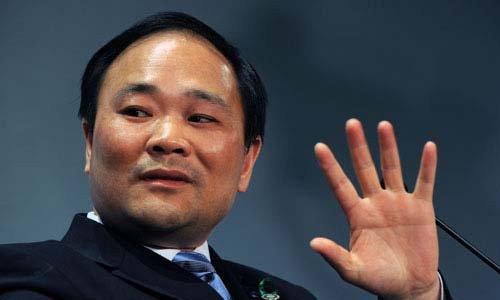 新任沃尔沃汽车公司董事长李书福(资料图)高清图片