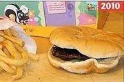 麦当劳汉堡放一年不坏 被质疑防腐剂添加过多
