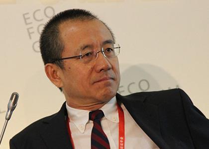 图文:中银国际副董事长高西庆