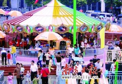 广州市儿童公园方面介绍