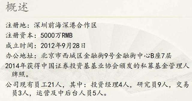 5年240亿元规模 揭秘王亚伟旗下千合资本的14位牛人组合!