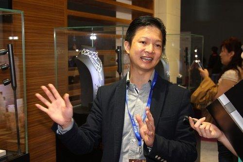 廖锐昌 谢瑞麟集团跨界合作提升设计水平