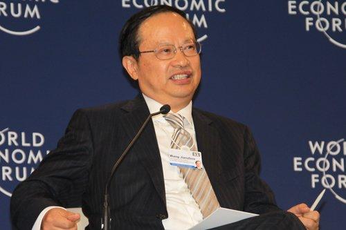 图文:中国移动通信集团公司董事长王建宙
