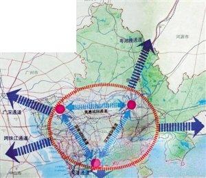 河源市经济总量_河源市地图