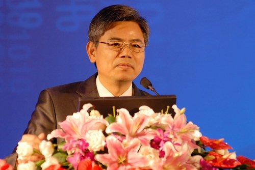 图文:招商银行财富管理总监陈昆德发言