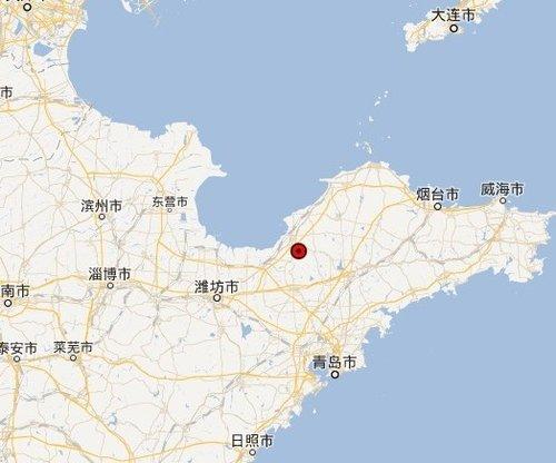 3级地震,震中位于北纬37.11度,东经120.03度.