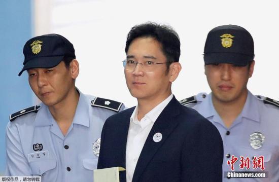 资料图片:韩国三星集团副会长李在镕。