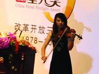 现场小提琴演奏