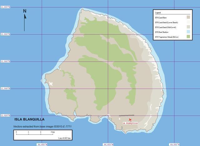 加勒比海列斯群岛布兰基亚岛