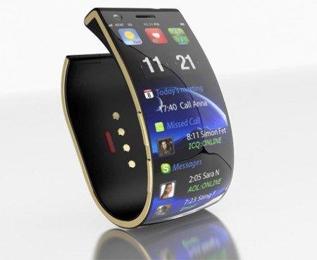 未来即视感 日本即将推出手腕型智能手机