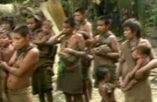人類學家公布首次被發現的亞馬遜原始部落照片(組圖)