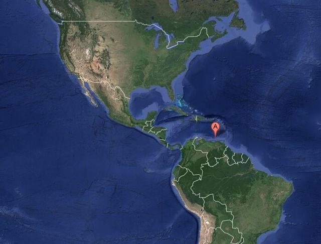 布兰基亚岛位置示意图