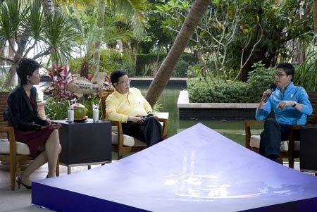 《论道》对话王中军:电影产业是否迎好时机