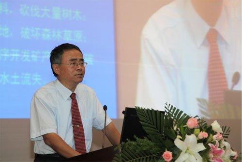 图文:黄河中上游管理局高级工程师李敏演讲
