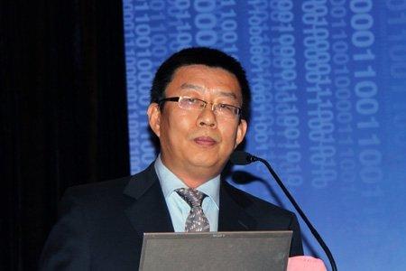 图文:分论坛二主持人北京大学教授、博导陈刚