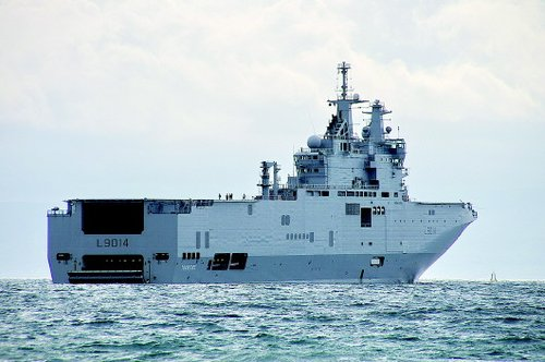 海军风手绘通知公告
