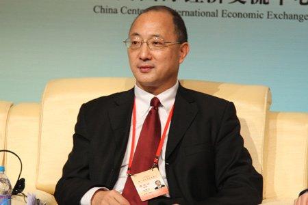 图文:美国铝业公司全球副总裁陈锦亚