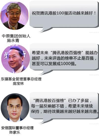 """香港特首为什么点赞""""腾讯港股百强榜""""?"""