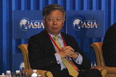 图文:中国投资公司监事长金立帮