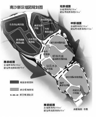 南沙新区建设将启幕 10股抢食1.5万亿蛋糕
