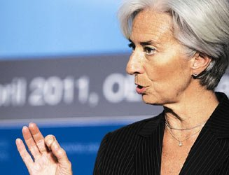 IMF新拉加德:朱民可在IMF扮演关键角色