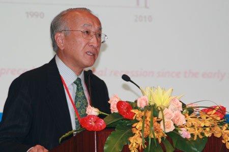 图文:国际能源署署长田中伸男发言