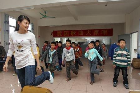 广州第一支关注留守儿童的志愿者队伍成立
