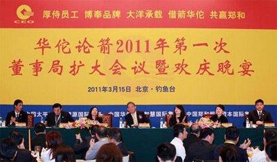 华佗论箭组委会在京召开第一次董事局扩大会议