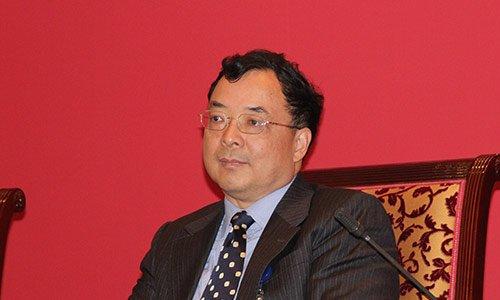 图文:中国保监会副主席陈文辉