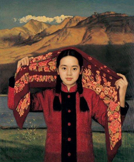 杨飞云油画作品欣赏