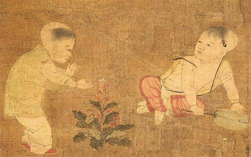 宋代人物画的题材大为拓宽,描写也更为深刻,风俗画和历史故事画