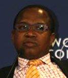 非洲开发银行的首席经济学家 Mthuli Ncube